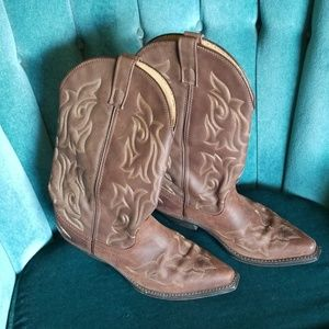 Laredo 5404 Cowgirl Boots Leather Sz 9